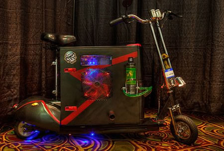 Scooterputer PC casemod 1