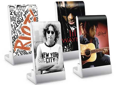 Seagate Music skins