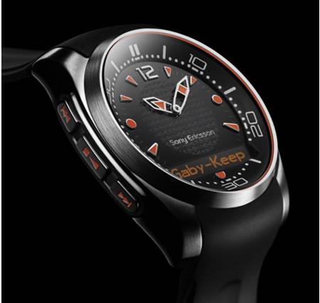 Sony Ericsson MBW-150 Music Bluetooth Watches