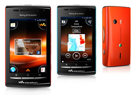 Sony Ericsson's first Android Walkman phone, the W8 makes ...