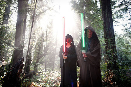 Star Wars theme engagement photo shoot6 thumb 450x299
