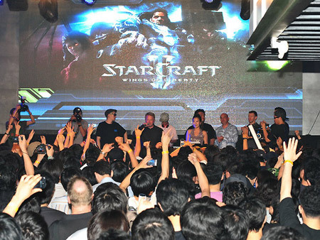 StarCraft 2 Midnight Launch Party 7