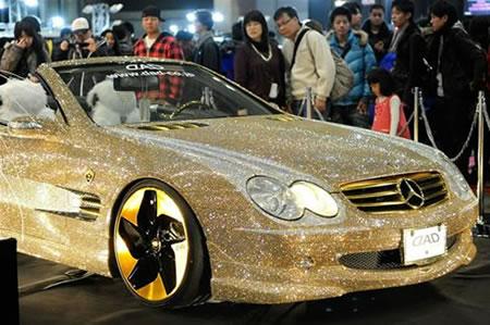 Swarovski-studded-Mercedes-Benz-SL600-1n