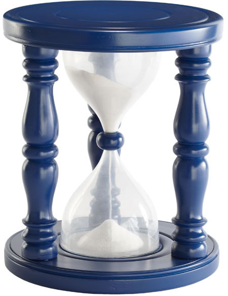 Time out timer stool leaves kids begging for time out Sand filled time out  stool