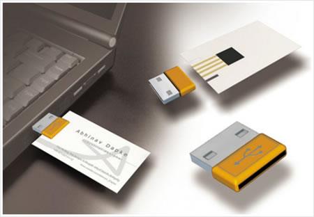 Usb business card colourmoves