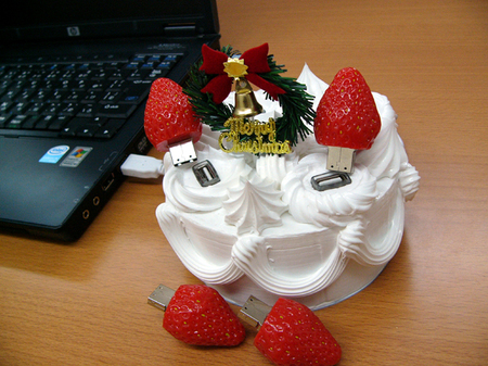 USB Christmas Cake 2 thumb 450x337