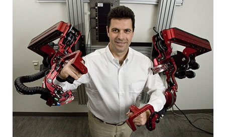 Wearable robotic exoskeleton