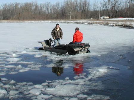 Safe Convenient And Cheap Ice Fishing Vehicle Wilcraft