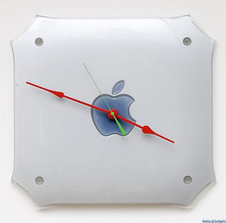 apple g4 mac clock