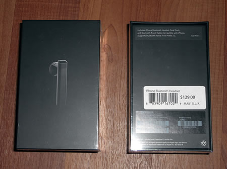 Iphone Bluetooth Headset Unboxing