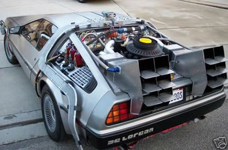 back to the future car dolorean