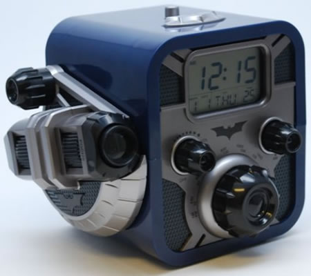 batman clock radio