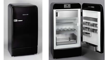 classic edition refrigerator from bosch. Black Bedroom Furniture Sets. Home Design Ideas