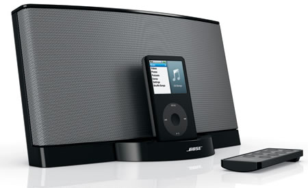 bose sounddock series ii docks ipod and iphone. Black Bedroom Furniture Sets. Home Design Ideas