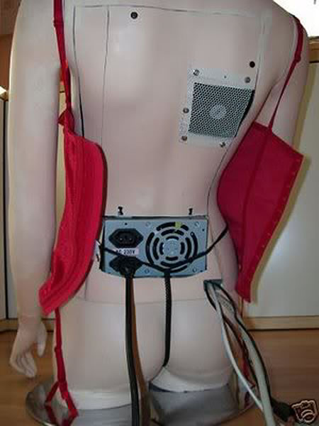 Sexy Cyber Girl Case Mod Former Lingerie Mannequin