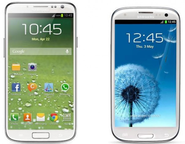 galaxy s iv and iii 590x459