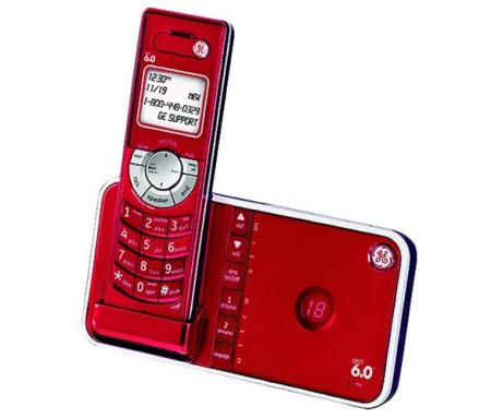 Ge s ultra slim cordless phone from the designer series - Designer cordless home phones ...