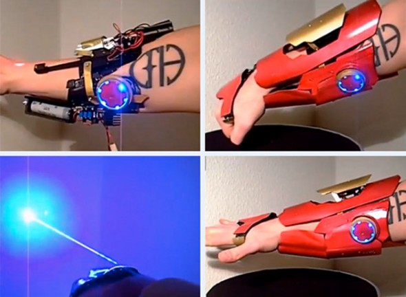 iron man laser gauntlet 590x432