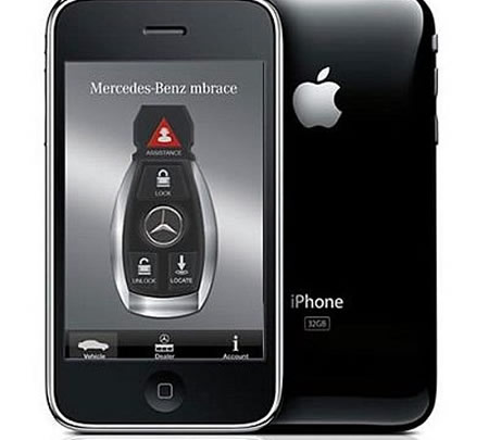 Mercedes benz owners will now get more from their iphone for Mercedes benz app for iphone