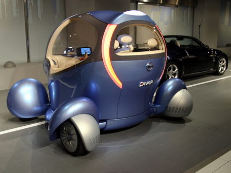 Nissan Pivo Concept Car With Papero The Robotic Driver
