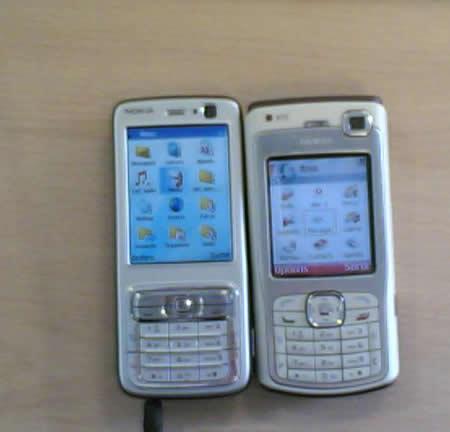 По материалам newmobile.nl. большой 2,4-дюймовый QVGA дисплей, ОС Symbian (