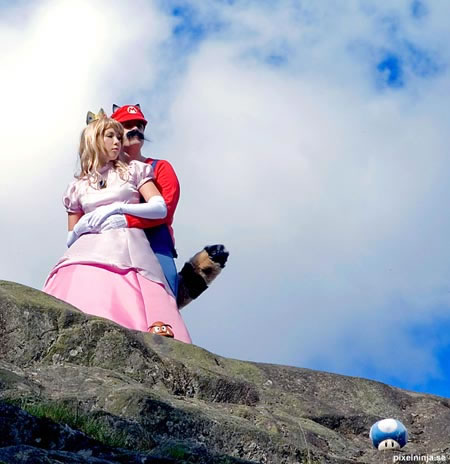 princess peach cosplay costume 11