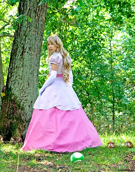 princess peach cosplay costume 3