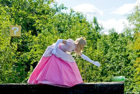 princess peach cosplay costume 5