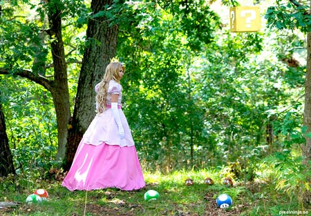 princess peach cosplay costume 6