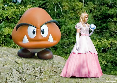 princess peach cosplay costume 7
