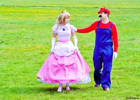 princess peach cosplay costume 9