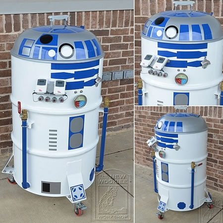 The Inexpensive Yet Nerd Awesome R2 D2 Inspired Barbeque