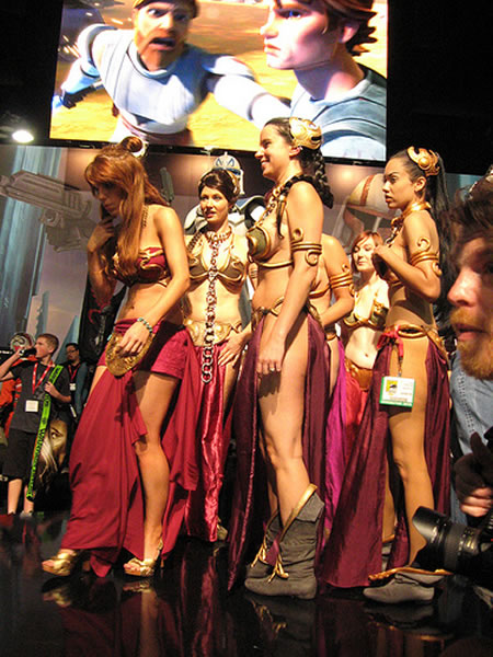 The Best Star Wars Costumes From Comic Con 2010