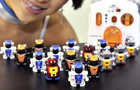 smallest walking robots