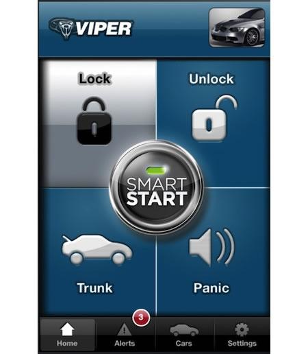 Viper Start: An IPhone App That Can Unlock And Start A Car