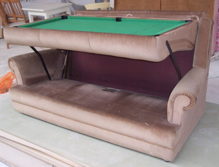 Gentil Sofa Pool Table Combo2