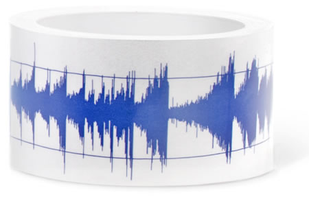 sound waves tape