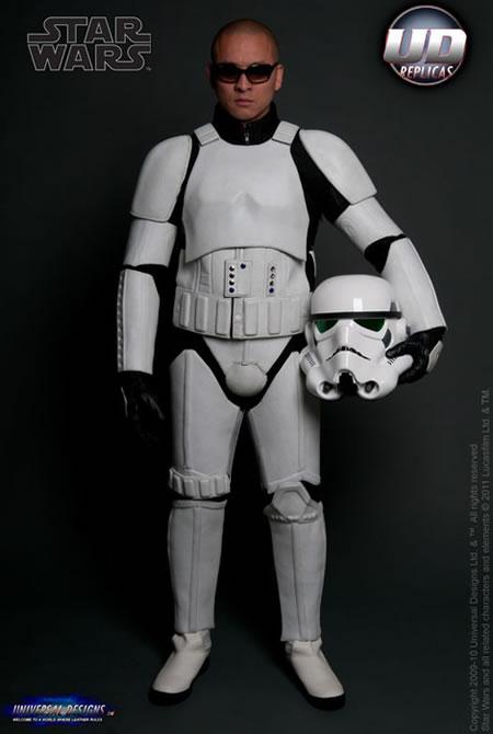 Star Wars inspired Stormtrooper biker suits makes you look ...
