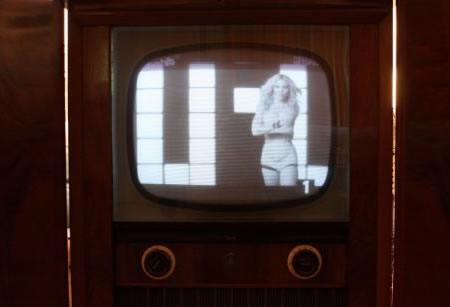 Old Is Gold Antique Tv Set Digitalized To Keep With