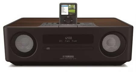 yamaha tsx 130 a sound system with retro looks. Black Bedroom Furniture Sets. Home Design Ideas