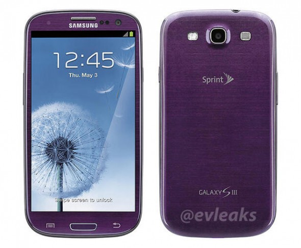 samsung galaxy s3 purple 590x487
