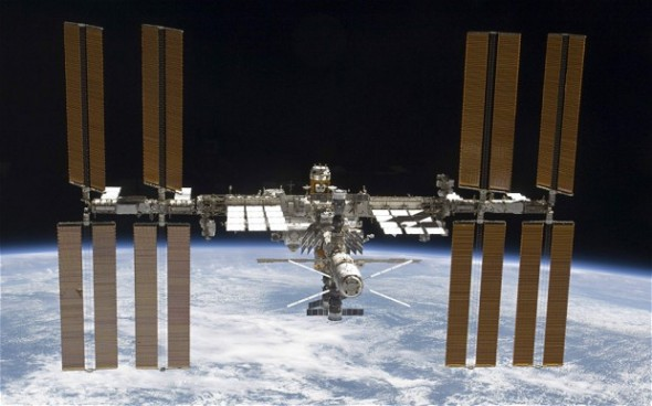 International Space station 590x368