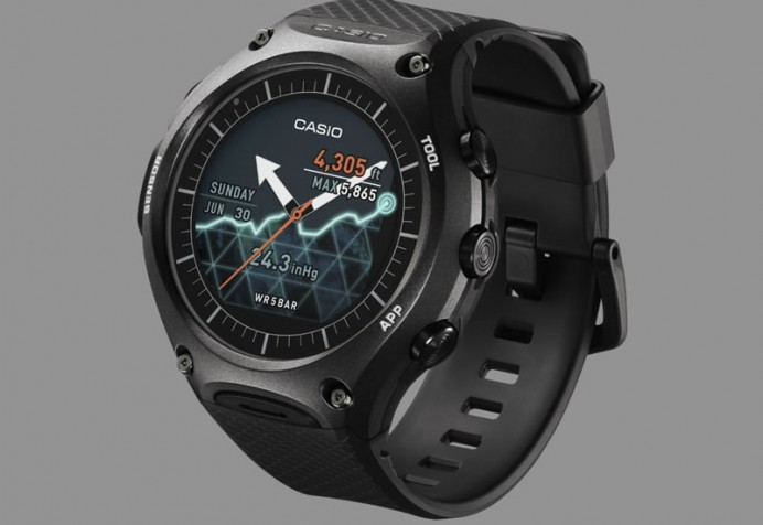 CES 2016: Casio's first smartwatch is called the WSD-F10 ...