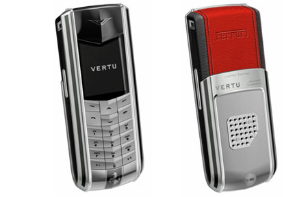 Authentic vertu nurburgring racetrack mobile phone for sale on.