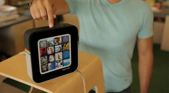 Instacube, the Instagram-dedicated photo frame allows real