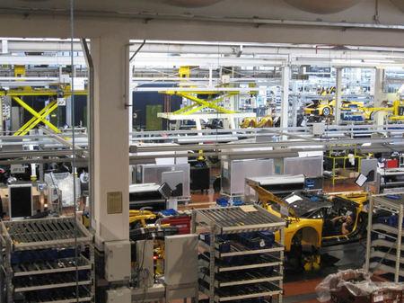 Lamborghini Factory Tour Forbidden Pics