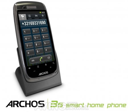 Archos unveils Android-based home phone and web radio at IFA |