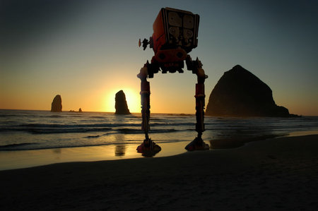 Star Wars In The West Coast Photoshop At Its Best