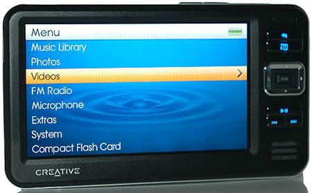 CREATIVE ZEN VISION W 60GB DRIVER DOWNLOAD FREE