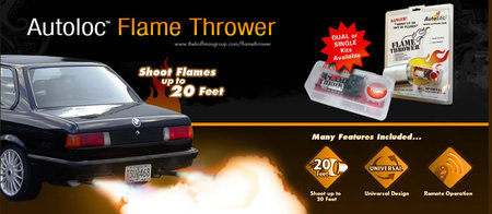 DIY Exhaust Flame Thrower Kit to Fire up Your Car |